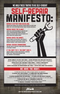 Self-repair manifesto